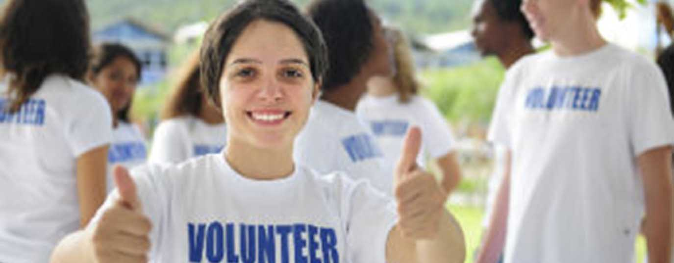 <p>Summer volunteering, a different kind of vacation</p> <p> </p> <p> </p>