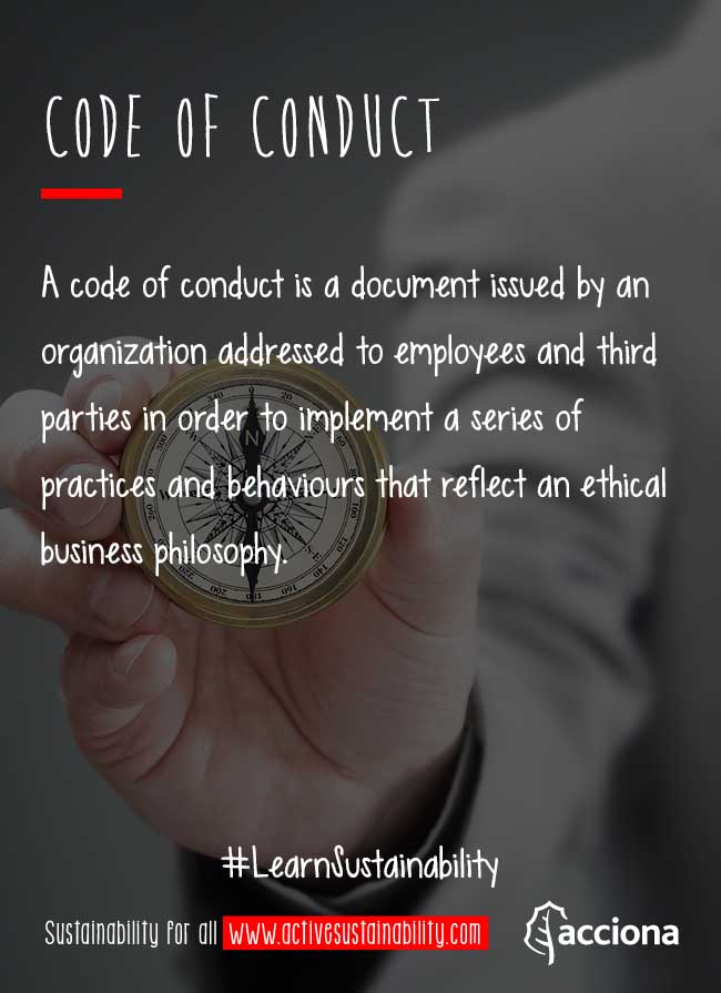 #LearnSustainability: Code of Conduct