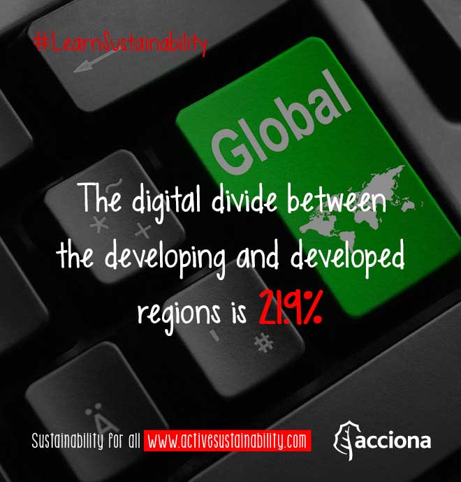 #LearnSustainability: Digital divide