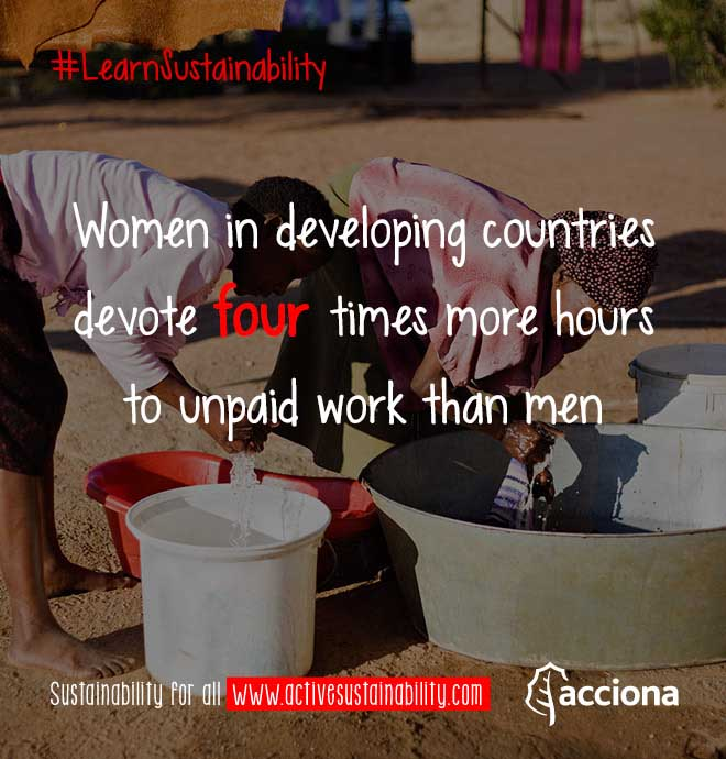 #LearnSustainability: Woman work