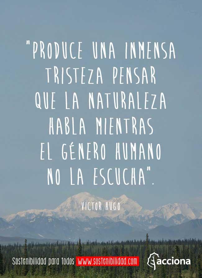 Víctor Hugo Y La Naturaleza
