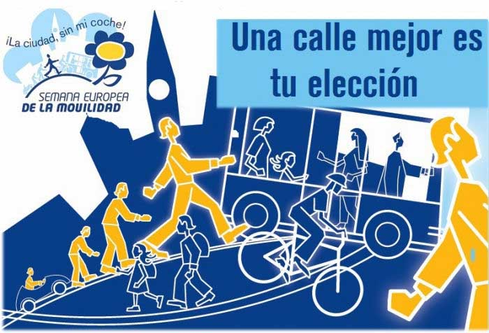 Semana Europea de la movilidad sostenible 2014