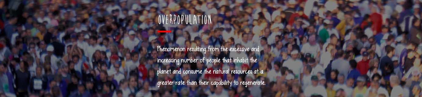 #LearnSustainability: Overpopulation