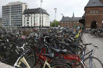Copenhague, the best city in bicycle use