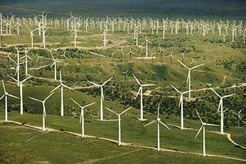 Wind energy, clean and sustainable