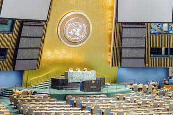 The UN General Assembly will present the SDGs