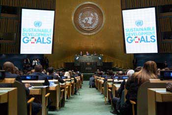 The UN General Assembly during the summit