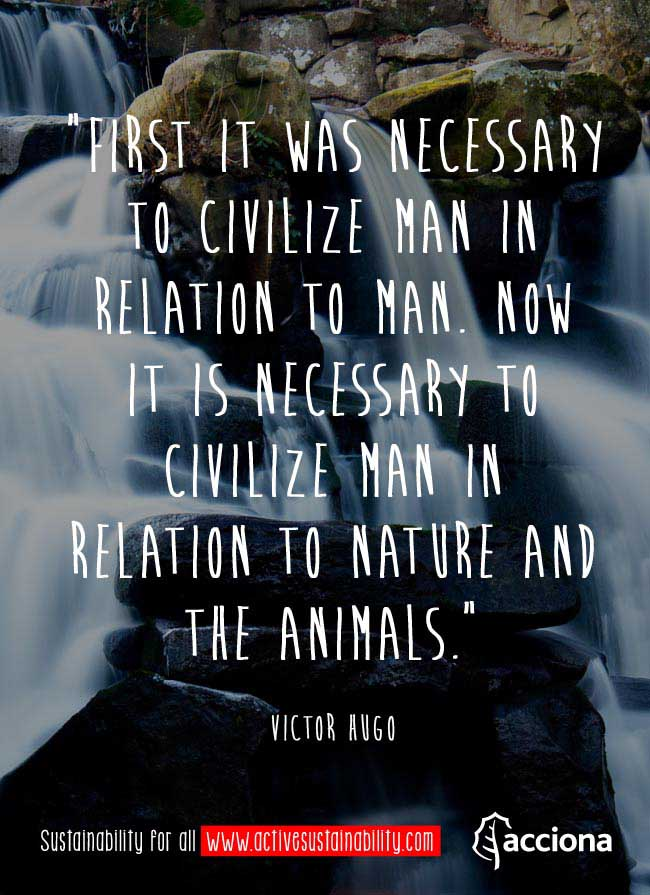 Victor Hugo and the civilization of man