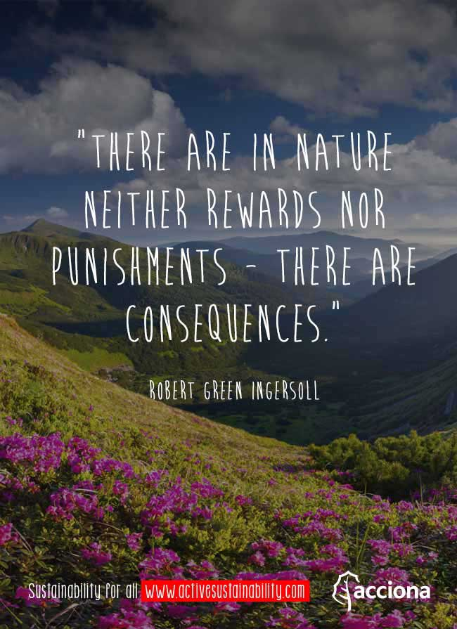 Robert G. Ingersoll and nature