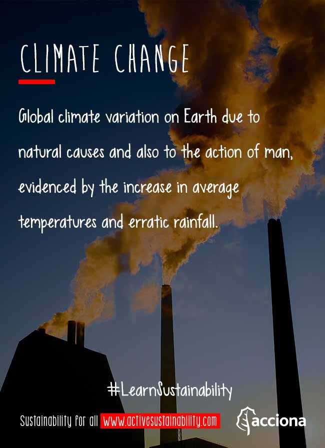 #LearnSustainability: Climate change