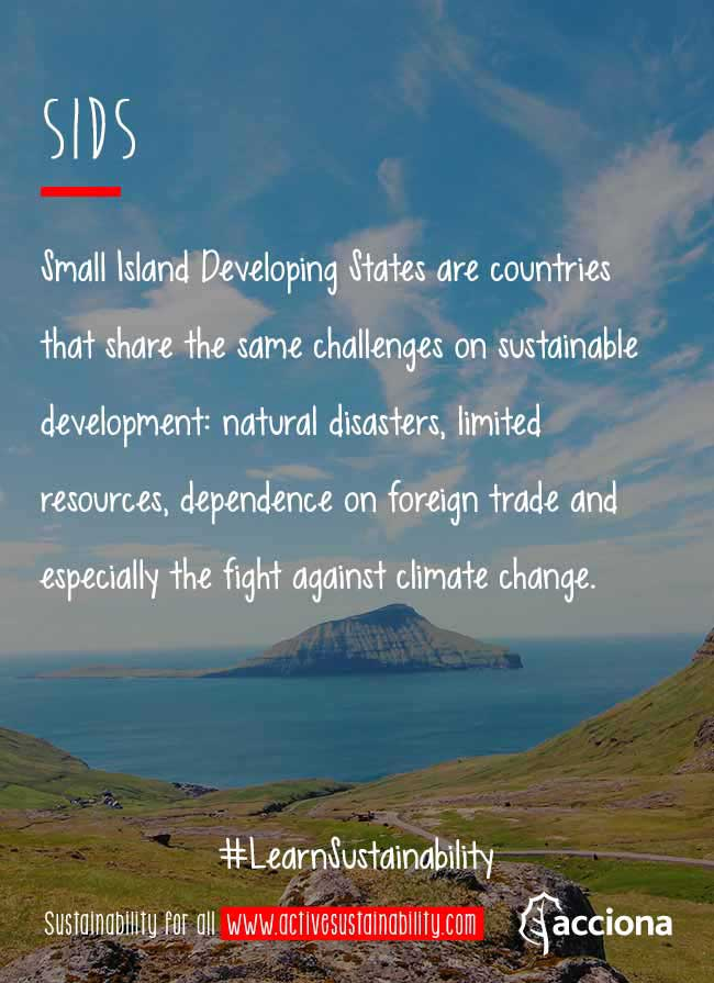 #LearnSustainability: SIDS