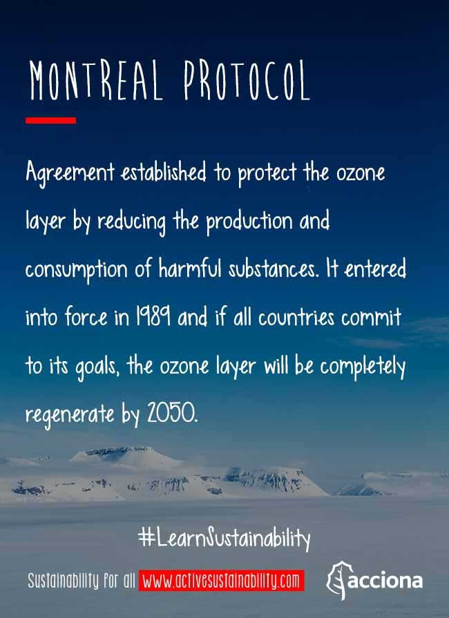 #LearnSustainability: Montreal Protocol