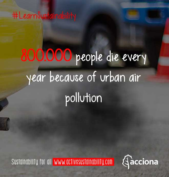 #LearnSustainability: Air pollution deaths