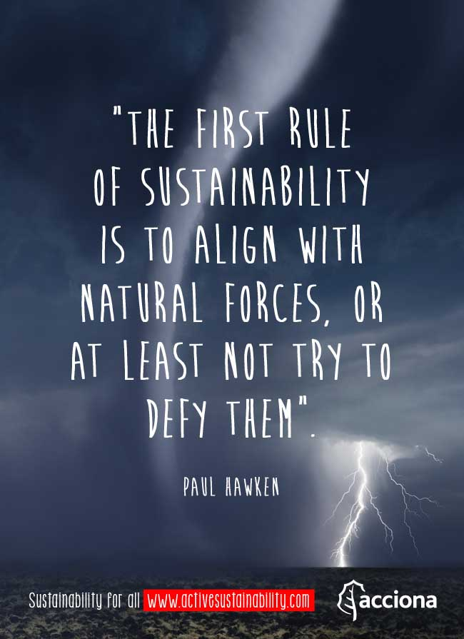 Paul Hawken and the rules of sustainability