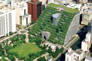 Green roofs improve air quality in cities