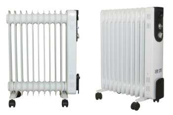 The most expensive systems are the electric radiators