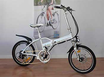 Foldable city bicycle