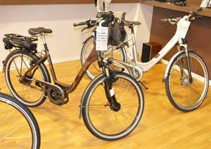 Vintage electrical bicycles
