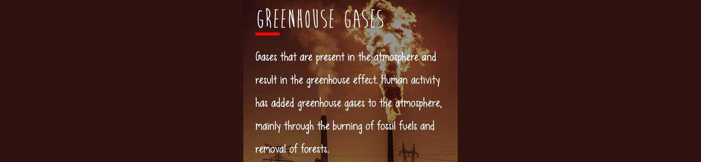 #LearnSustainability: Greenhouse gases