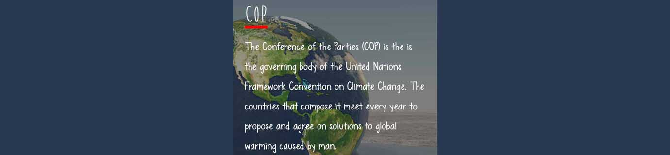 #LearnSustainability: Conference of the Parties (COP)