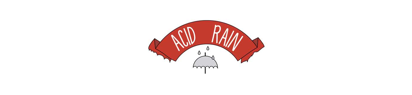 What is acid rain and how is it formed?