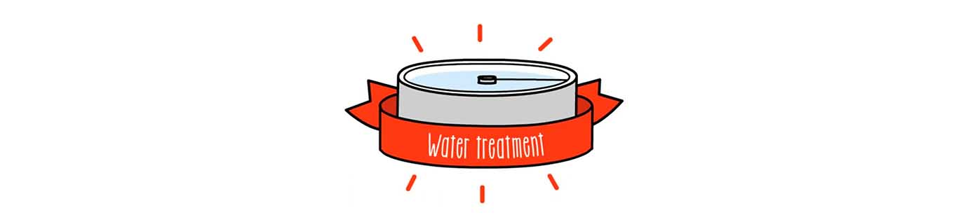 This is the water treatment process