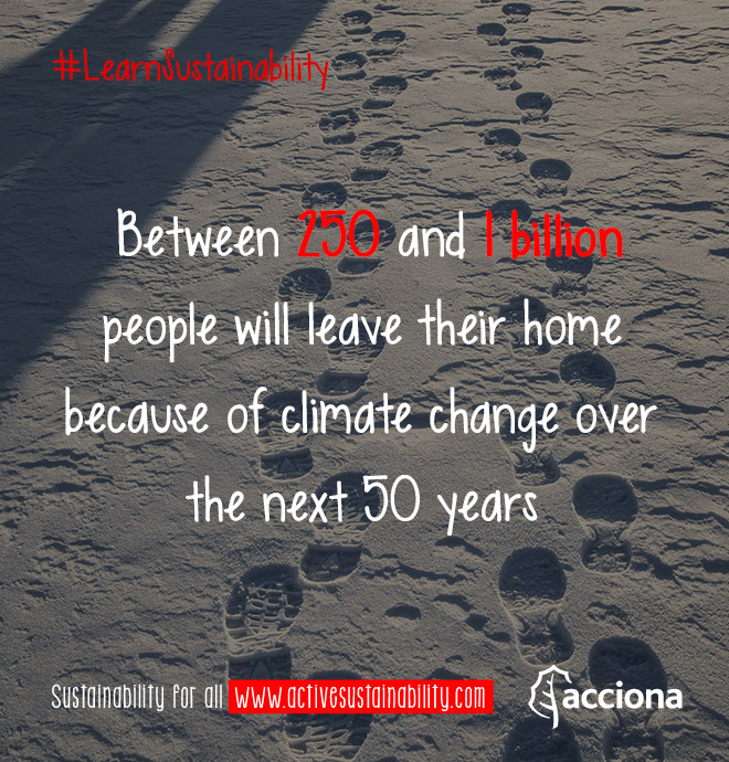 #LearnSustainability: Leaving home due to climate change