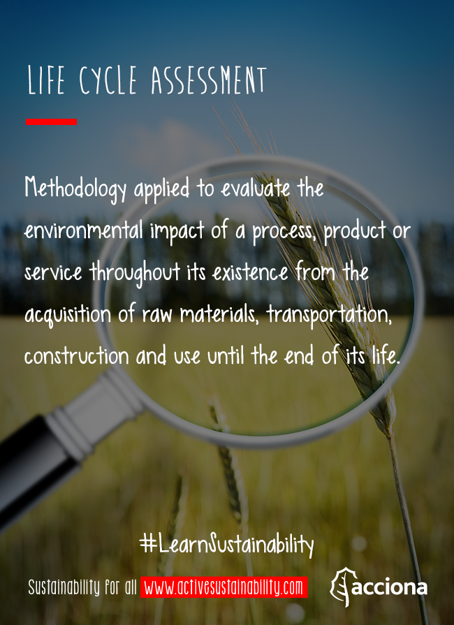 #LearnSustainability: Life cycle assessment