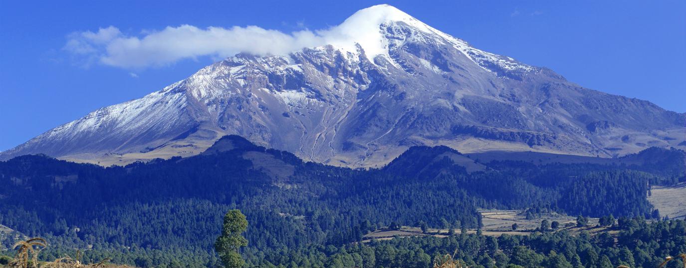 <p>Iztaccíhuatl-Popocatépetl National Park (Mexico)</p>