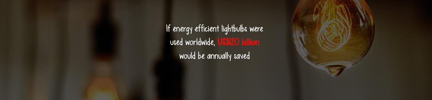 #LearnSustainability: Efficient lightbulbs and worldwide savings