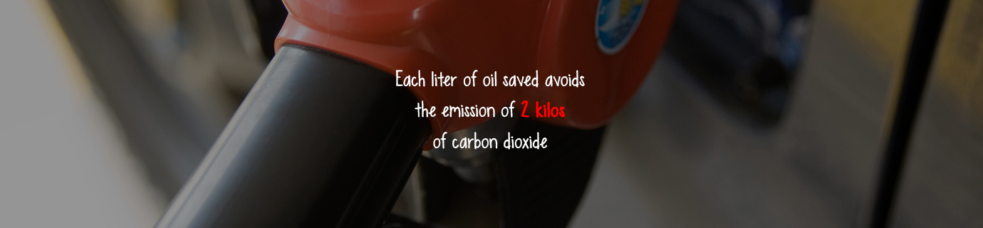 #LearnSustainability: Liter of oil and CO2 emissions