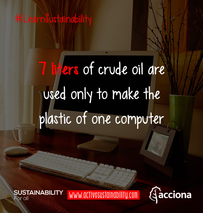 #LearnSustainability: Crude oil to make computers