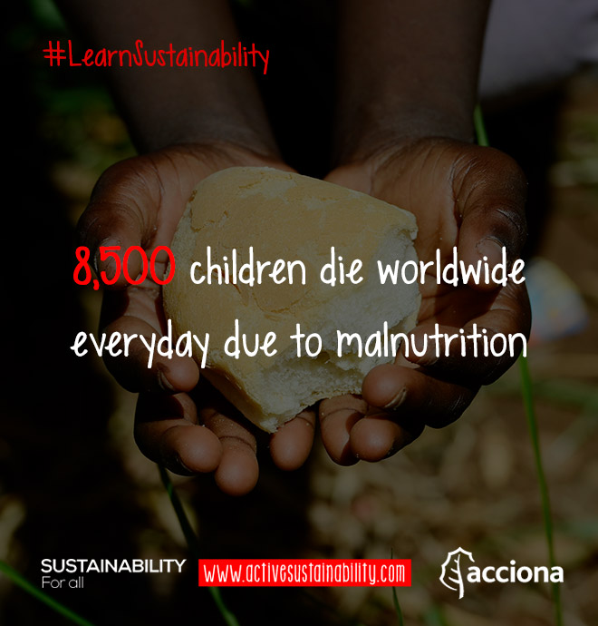 #LearnSustainability: Child death due to malnutrition