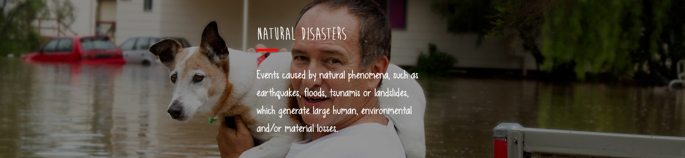 #LearnSustainability: Natural disasters