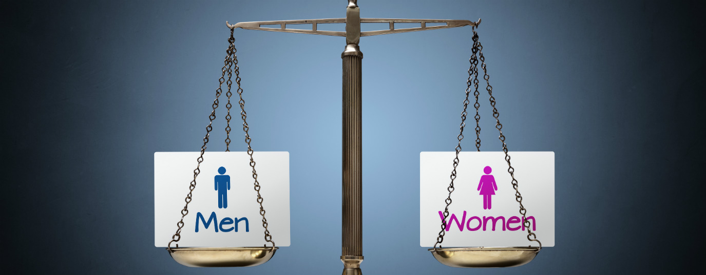 What is the pay gap between men and women?