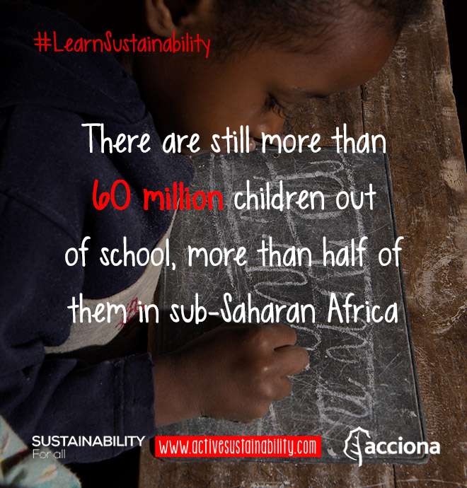 #LearnSustainability: Children out of school