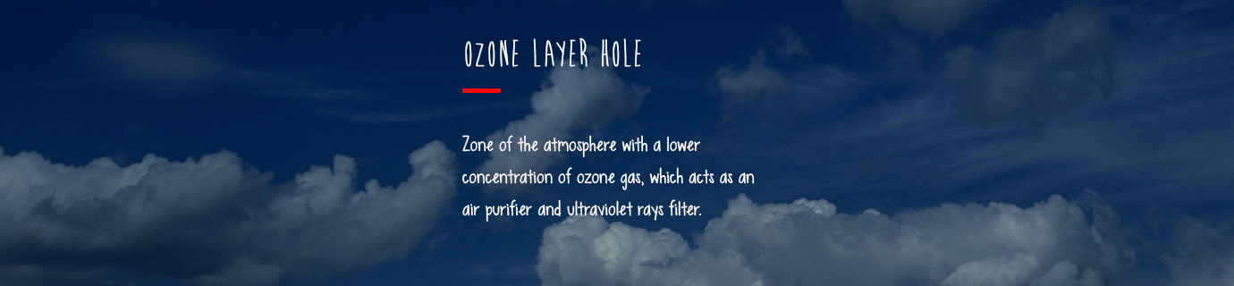 #LearnSustainability: Ozone layer hole