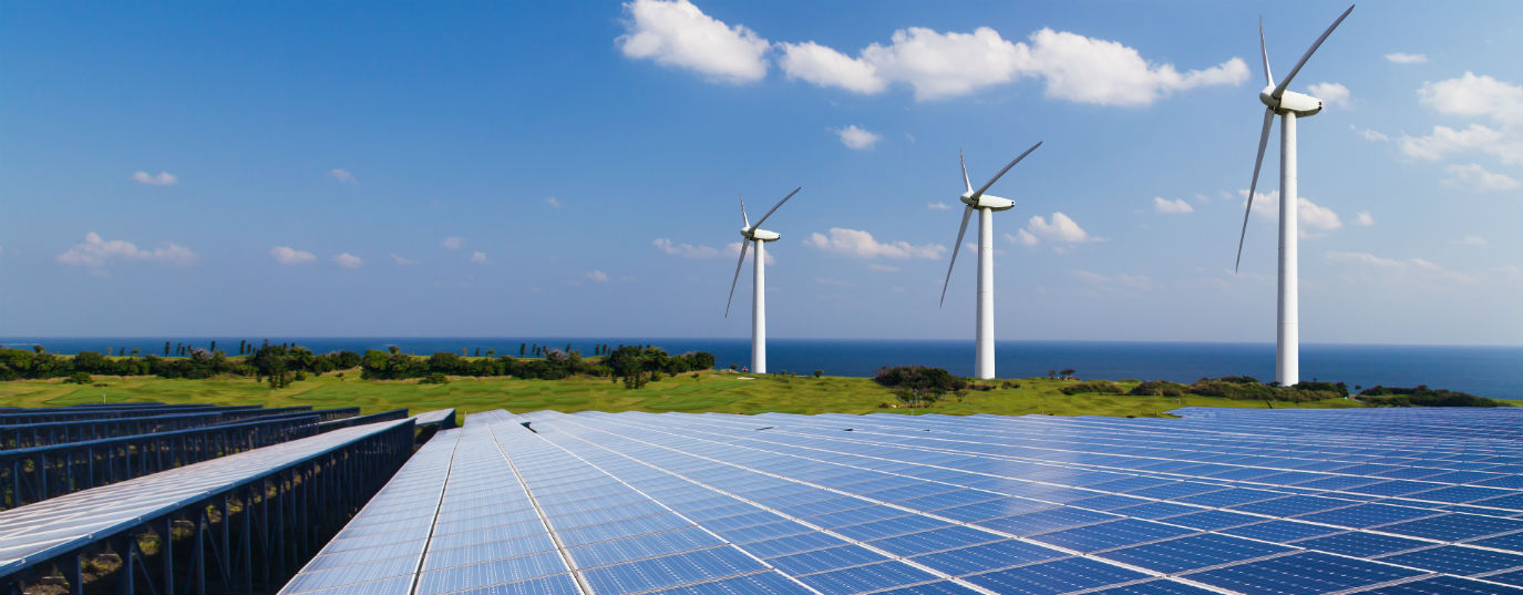 Trends in renewable energies, construction and water