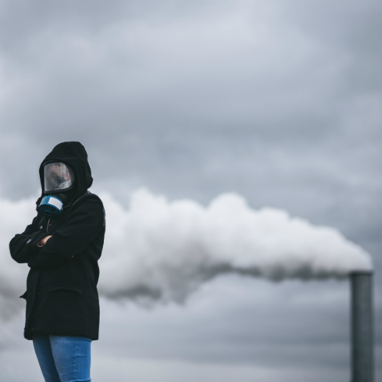The link between climate change and air pollution