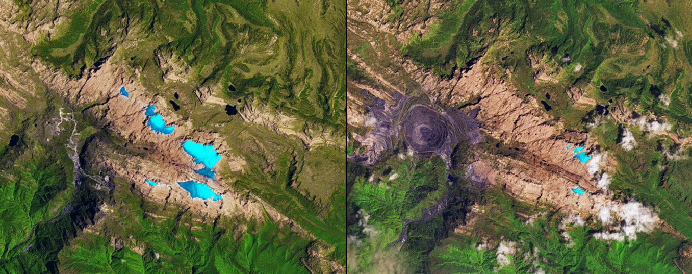 What was the planet like a decade ago? The Earth's #10yearschallenge